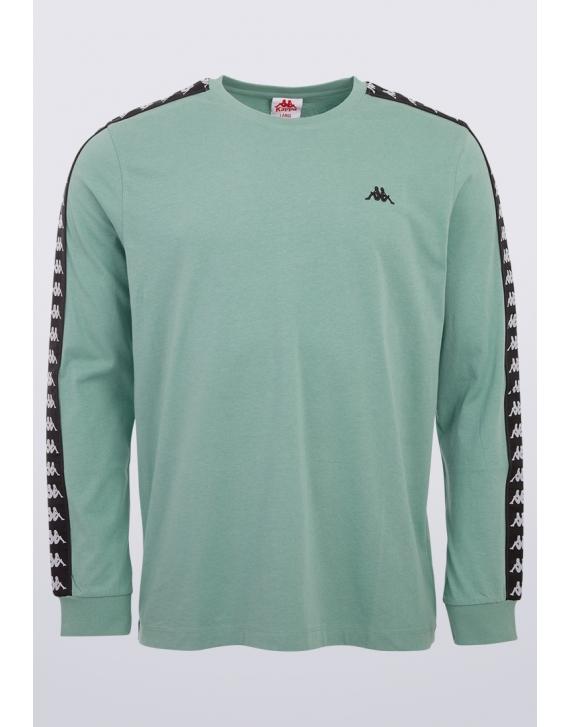 T-shirt longsleeve Kappa Jenk MALACHITE GREEN