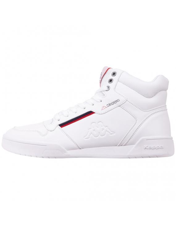 Buty sneakersy męskie Kappa Mangan biało-czerwone