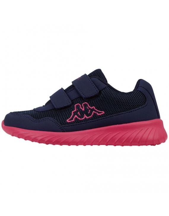 Buty dziecięce sneakersy Kappa Cracker II BC K  navy/pink