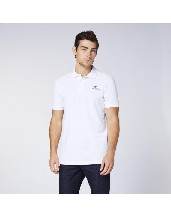 Koszulka polo KAPPA PELEOT White
