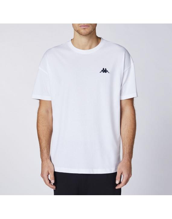 Koszulka t-shirt Kappa Veer BRIGHT WHITE